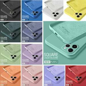 For iPhone 13 12 Pro Max 11 XS XR 8 7 SE Liquid Silicone Case Camera Lens Cover