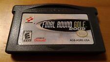 ** Final Round Golf 2002 (Nintendo Gameboy GBA Advance 2001) **
