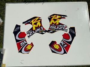 WERX DECAL STICKER KIT FOR SUZUKI RM250 1997 1998