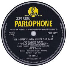 Beatles. Record Label Vinyl Sticker. Parlophone. Apple.