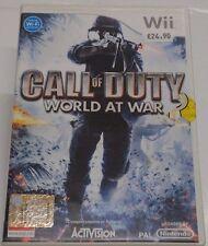 Call of Duty World at War per Nintendo WII