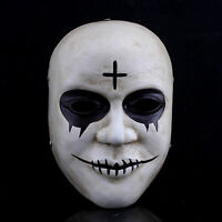 THE PURGE 2 MOVIE COSTUME HORROR FANCY DRESS MASK ADULT COSPLAY ANARCHY RESIN +