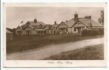 POSTCARDS-SCOTLAND-CARNOUSTIE-PTD. The Soldiers Home, Barry Camp.