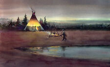 ACEO, ATC Limited Edition TIPI FIRE  by Sharon Sharpe!!!