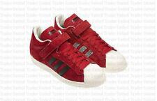 Zapatillas deportivas de hombre adidas color principal rojo de ante