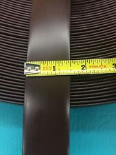 "5' Vinyl 2"" Chair Strapping Outdoor Patio Furniture Repair Dark Brown  #208"