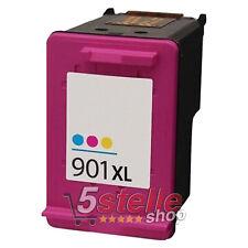 CARTUCCIA COLORE 901 XL HP OFFICEJET J4500 J4524 J4535 J4580 J4585 J4624 J4680