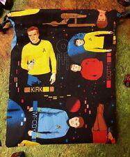 Star Trek The Original Series Characters dice bag, card bag, makeup bag