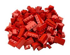 1lb of Assorted RED Lego Bricks & Parts & Pieces Sold in Bulk by the Pound