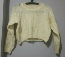 Polyester Unbranded Textured Regular Jumpers & Cardigans for Women