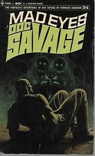 DOC SAVAGE #34: MAD EYES  by Kenneth Robeson - 1st Paperback Printing