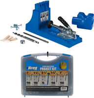 Kreg Jig K4 Pocket Hole System and Pocket-Hole Screw Project Kit in 5 Sizes