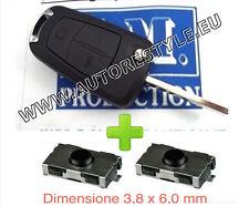 Cubierta cover llave control remoto OPEL Zafira B Astra H Corsa D Meriva 2T+2