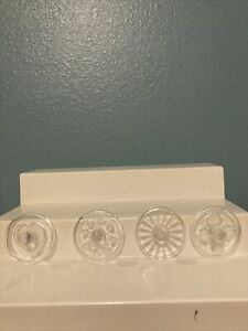 Lot Of Four Glass Cookie Stamps