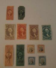 U.S. Revenue Stamps 1862-71 Mixed Lot