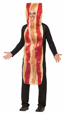 Bacon Mascot Adult Costume Funny Comical Mascot Food Meat Pork Party Halloween