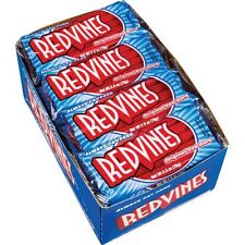 Red Vines Red Licorice Whips, 2.5 oz, 24 ct Red Vines Red Candy