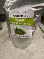 Tea zone Matcha Green Tea Premium Powder Mix 2.2 lbs New