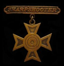 WWI US Army National Guard Sharpshooter Badge in Bronze – Marksmanship