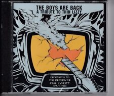 THE BOYS ARE BACK A Tribute To Thin Lizzy CD ALICE COOPER RAINBOW IRON MAIDEN