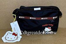 NEW LeSportsac Hello Kitty Shoulder Bag DANIELLA CROSSBODY Black 2434 G653