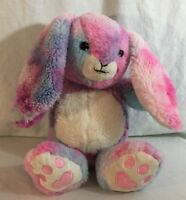 Warmies microwave Heat Pack Rainbow Tie Dye Boo Boo Bunny (Plush Lovey Stuffed)