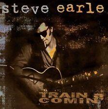 STEVE EARLE TRAIN A COMIN' 1995 WINTER HARVEST CD OOP SEALED NEW