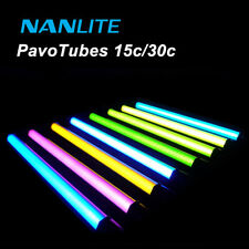 New Nanlite Pavotube 15c/30c LED Tube Light RGB Color Handheld Photography Light