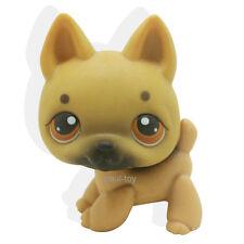 Littlest Pet Shop Cinnamon Brown German Shepherd Dog Puppy LPS #61