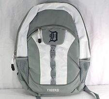 Detroit Tigers Backpack Silver/White