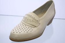 Easy Street Schuhe beige Leder Slipper Gr. 38 (UK 5)