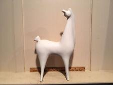 Vintage MidCentury SASCHA BRASTOFF White Bisque Giraffe Sculpture Figurine