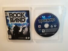Rock Band (Sony PlayStation 3, 2007) GAME ONLY - COMPLETE CIB - FAST FREE SHIPP!