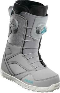 SNOWBOARD BOOTS THIRTYTWO WOMENS UK 5 GREY STW DOUBLE BOA US 7 EU 38