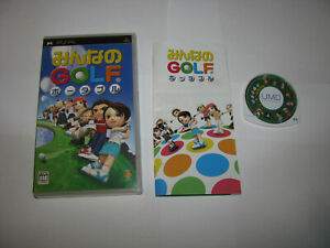 Minna no Golf Portable Playstation Portable PSP Japan import US Seller