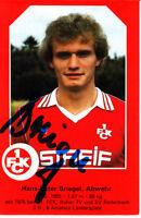 Hans-Peter Briegel 1.FC Kaiserslautern Wattenscheid Verona Genua DFB Deutschland
