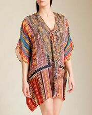 new CAMILLA FRANKS SILK CRYSTALS IN THE NAME OF THE TRIBE KAFTAN 100's more ava