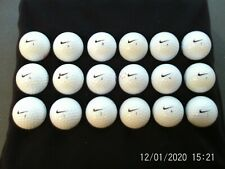 Nike one and one vapour golf balls x 18 grade 1 great condition.