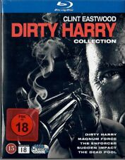 Dirty Harry Collection Blu-ray Box Teil 1+2+3+4+5 NEU OVP Clint Eastwood