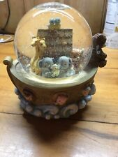 Bainbridge Bears Ark of Friendship Snowglobe Musical Plays Twinkle Little Star