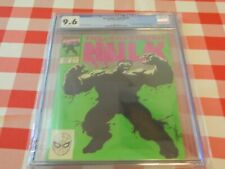 """THE HULK #377  CGC graded 9.6   """"Tiger Electronics"""" Insert included"""