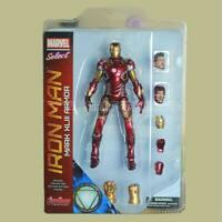 The Avengers Iron Man PVC Action Figure MK43 Model Toys Marvel Heroes Collection