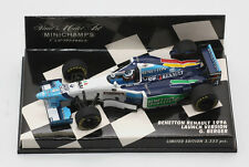 MINICHAMPS BENETTON RENAULT B196 BERGER LAUNCH 1996 LE 1:43