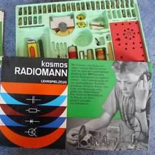 Kosmos-Baukasten RADIOMANN 20. Auflage 1968