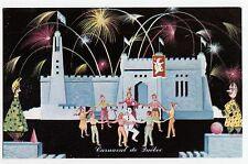 Danse au Chateau de Glace Carnaval de QUEBEC QC Canada Carte Postale R. Drouin