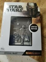 "Star Wars Limited Edition,The Mandalorian"" Official Ingot"". Limited 9,995 World"