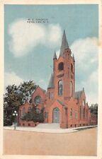 C84/ Penn Yan New York NY Postcard 1926 M.E. Church Building