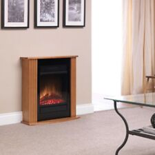 Dimplex MCFP150 Orvieto Log Effect Suite Fire in Oak - 1500 W BRAND NEW