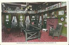 Pre-pro Postcard The Rathskeller, Bartels Brewing Co. Wilkes-Barre, PA - Unused
