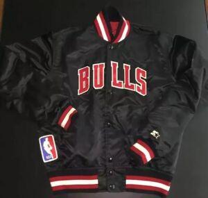 Vintage 1991 Chicago Bulls Starter Jacket Coat - Adult Medium - Jordan Pippen